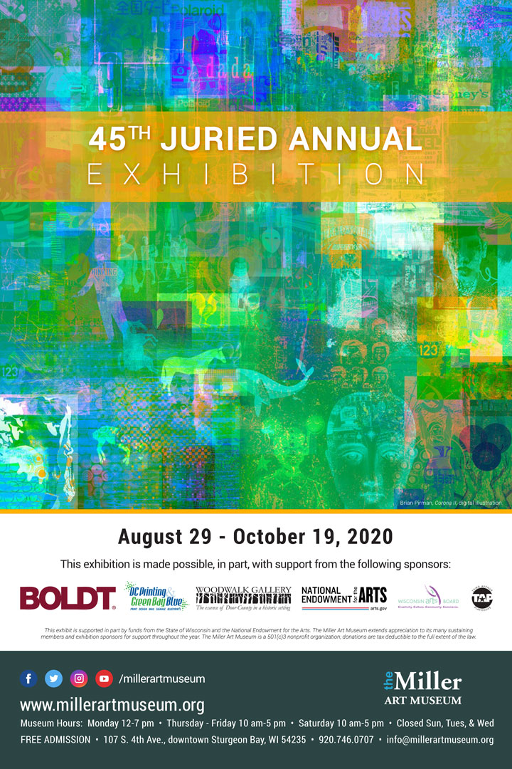 2020 Juried Annual opening invite web