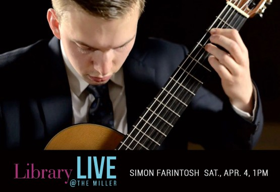 LibraryLIVE at the Miller | Simon Farintosh